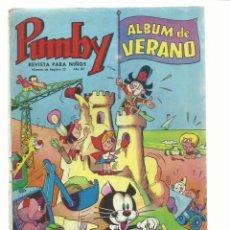 Tebeos: PUMBY, ÁLBUM DE VERANO, 1966, VALENCIANA. COLECCIÓN A.T.. Lote 235638005