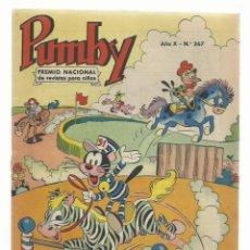 Tebeos: PUMBY 367, 1964, VALENCIANA, MUY BUEN ESTADO. COLECCIÓN A.T.. Lote 235638605