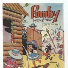Tebeos: PUMBY 262, 1962, VALENCIANA, MUY BUEN ESTADO. COLECCIÓN A.T.. Lote 235639685