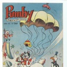 Tebeos: PUMBY 247, 1962, VALENCIANA, IMPECABLE. COLECCIÓN A.T.. Lote 235640800