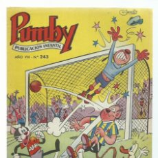 Tebeos: PUMBY 243, 1962, VALENCIANA, IMPECABLE. COLECCIÓN A.T.. Lote 235641365