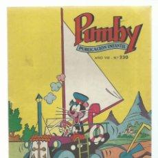 Tebeos: PUMBY 230, 1961, VALENCIANA, IMPECABLE. COLECCIÓN A.T.. Lote 235642745