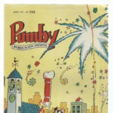 Tebeos: PUMBY 208, 1961, VALENCIANA, MUY BUEN ESTADO. COLECCIÓN A.T.. Lote 235643975
