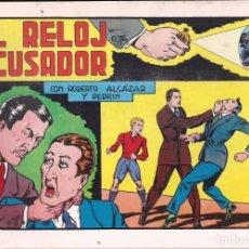 Tebeos: ROBERTO ALCAZAR Y PEDRIN Nº 64: EL RELOJ ACUSADOR. AÑO 1982. Lote 235726350