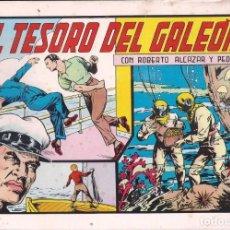 Tebeos: ROBERTO ALCAZAR Y PEDRIN Nº 70: EL TESORO DEL GALEÓN. AÑO 1982. Lote 235727780