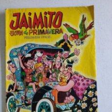 Tebeos: JAIMITO - EXTRA DE PRIMAVERA - EDITORA VALENCIANA - AÑO1969. Lote 235843890