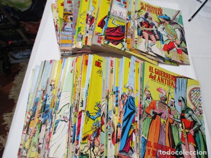 EL GUERRERO DEL ANTIFAZ PUBLICACIÓN JUVENIL (117 NÚMEROS) W5187 (Tebeos y Comics - Valenciana - Guerrero del Antifaz)