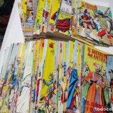 Tebeos: EL GUERRERO DEL ANTIFAZ PUBLICACIÓN JUVENIL (117 NÚMEROS) W5187. Lote 236130010