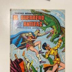 Tebeos: EL GUERRERO DEL ANTIFAZ. Nº 42 - COCODRILOS HAMBRIENTOS. EDITORA VALENCIANA, 1973. Lote 236220290