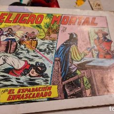 Tebeos: PELIGRO MORTAL CON EL ESPADACHIN ENMASCARADO. Lote 236259655