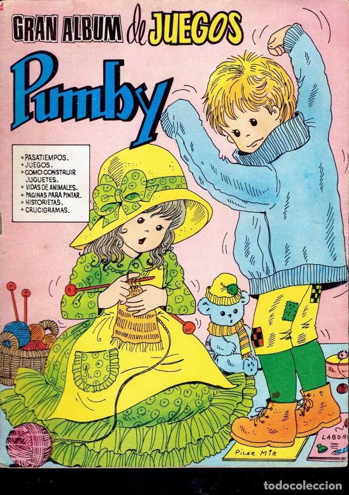 3 COMICS DE GRAN ALBUM DE JUEGOS PUMBY,N,26-48-51 EDITORA VALENCIANA S.A. 1982 (Tebeos y Comics - Valenciana - Pumby)