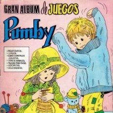 Tebeos: 3 COMICS DE GRAN ALBUM DE JUEGOS PUMBY,N,26-48-51 EDITORA VALENCIANA S.A. 1982. Lote 236361775