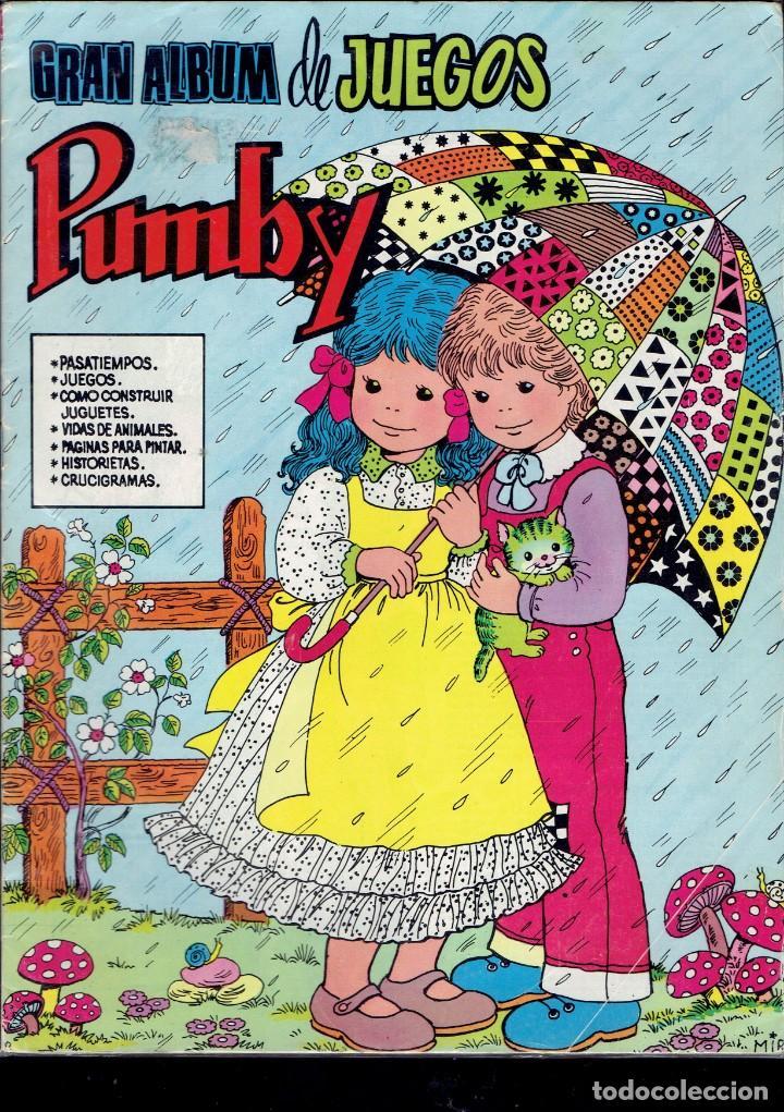 Tebeos: 3 COMICS DE GRAN ALBUM DE JUEGOS PUMBY,N,26-48-51 EDITORA VALENCIANA S.A. 1982 - Foto 2 - 236361775