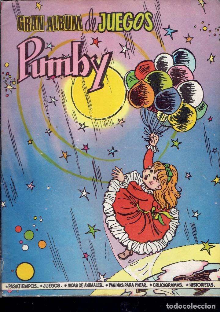 Tebeos: 3 COMICS DE GRAN ALBUM DE JUEGOS PUMBY,N,26-48-51 EDITORA VALENCIANA S.A. 1982 - Foto 3 - 236361775