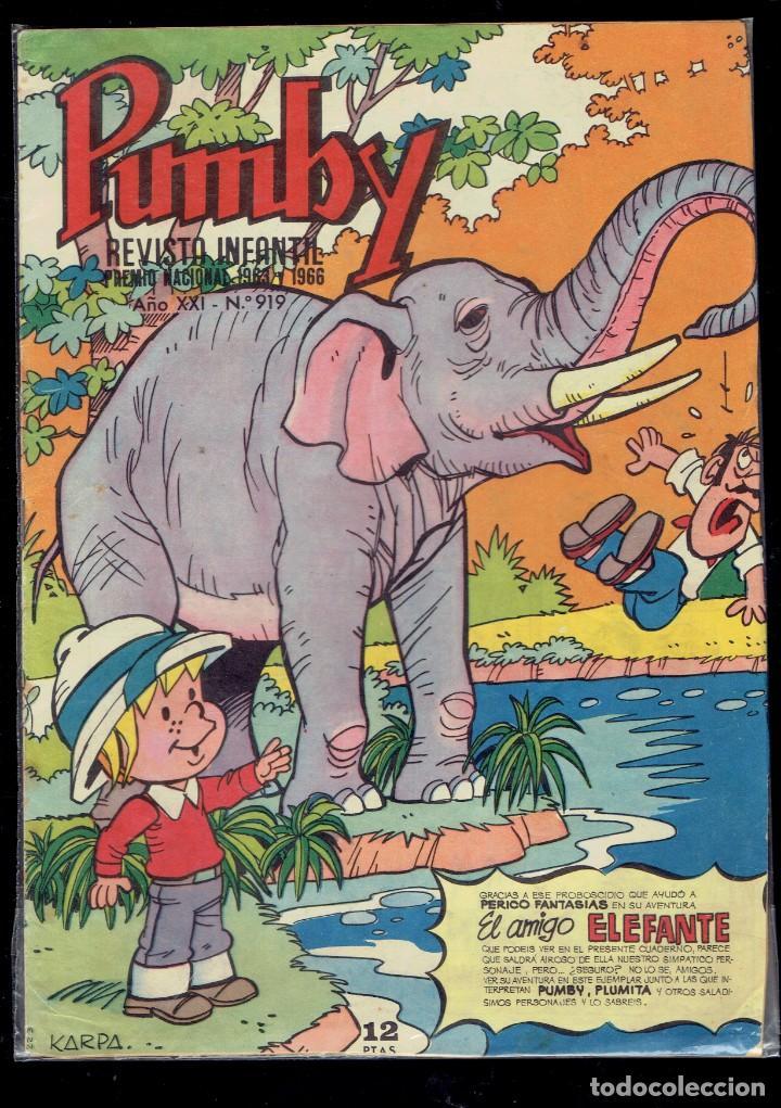 12 COMICS PUMBY SE VENDEN SUELTOS A 2 EUROS UNIDAD EDITORIAL VALENCIANA 1975 (Tebeos y Comics - Valenciana - Pumby)