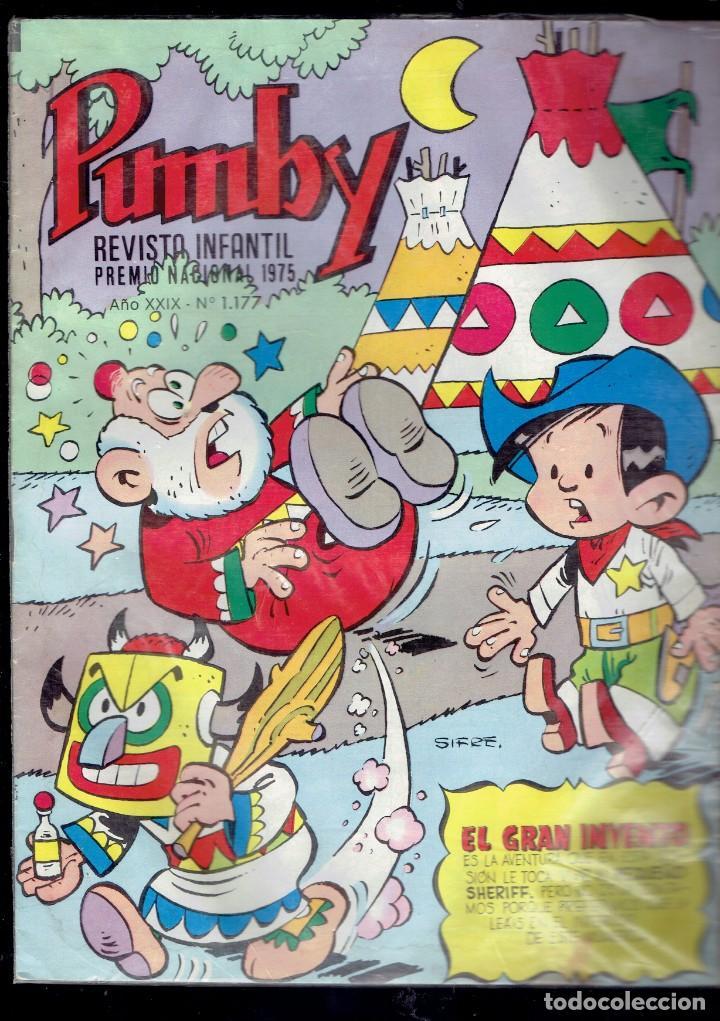 Tebeos: 12 COMICS PUMBY SE VENDEN SUELTOS A 2 EUROS UNIDAD EDITORIAL VALENCIANA 1975 - Foto 4 - 236364520