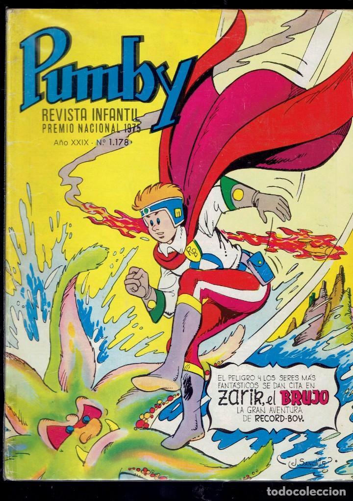 Tebeos: 12 COMICS PUMBY SE VENDEN SUELTOS A 2 EUROS UNIDAD EDITORIAL VALENCIANA 1975 - Foto 5 - 236364520