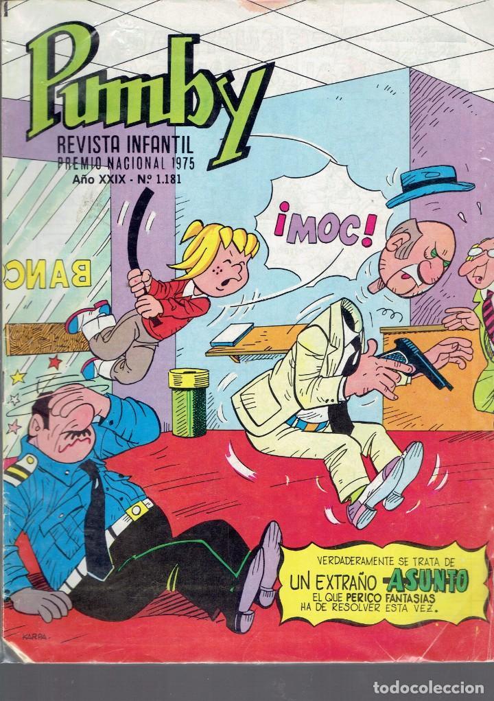 Tebeos: 12 COMICS PUMBY SE VENDEN SUELTOS A 2 EUROS UNIDAD EDITORIAL VALENCIANA 1975 - Foto 12 - 236364520