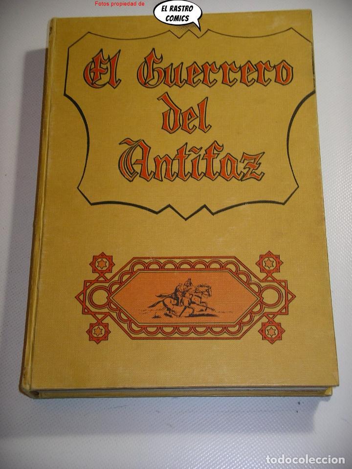 EL GUERRERO DEL ANTIFAZ TOMO Nº 4, (61 AL 80), ED VALENCIANA 1973, COLOR, LOTE, 16A (Tebeos y Comics - Valenciana - Guerrero del Antifaz)