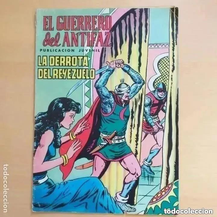 EL GUERRERO DEL ANTIFAZ - LA DERROTA DEL REYEZUELO. VALENCIANA NUM 25 (Tebeos y Comics - Valenciana - Guerrero del Antifaz)