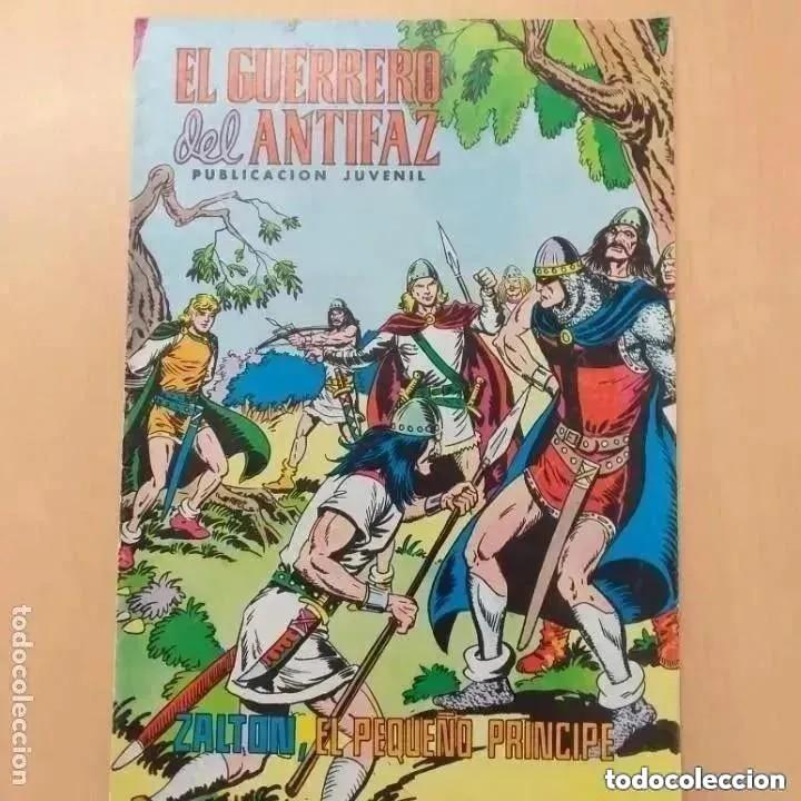 EL GUERRERO DEL ANTIFAZ - ZALTON, EL PEQUEÑO PRINCIPE. VALENCIANA. NUM 288 (Tebeos y Comics - Valenciana - Guerrero del Antifaz)