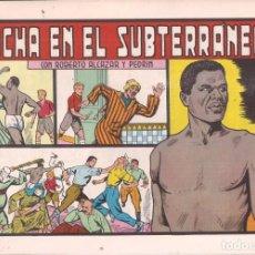 Tebeos: ROBERTO ALCAZAR Y PEDRIN Nº 142: LUCHA EN EL SUBTERRANEO. AÑO 1984. Lote 236602690