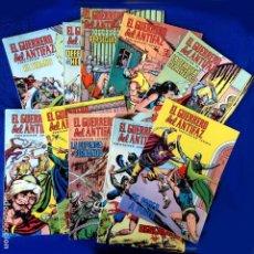 Livros de Banda Desenhada: RESERVADO - EL GUERRERO DEL ANTIFAZ, 10 PORTADAS (SIN CÓMIC) Nº 25 AL 34, - EDIC. COLOREADA 1972,. Lote 236626565