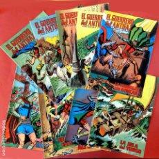 Livros de Banda Desenhada: RESERVADO - EL GUERRERO DEL ANTIFAZ, 9 PORTADAS (SIN CÓMIC) Nº 66 AL 76, - EDIC. COLOREADA 1972,. Lote 236627845