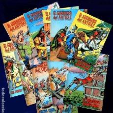 Livros de Banda Desenhada: RESERVADO - EL GUERRERO DEL ANTIFAZ, 10 PORTADAS (SIN CÓMIC) Nº 77 AL 86, - EDIC. COLOREADA 1972,. Lote 236628410