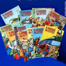 Livros de Banda Desenhada: RESERVADO - EL GUERRERO DEL ANTIFAZ, 14 PORTADAS (SIN CÓMIC) Nº 87 AL 100, - EDIC. COLOREADA 1972,. Lote 236629035