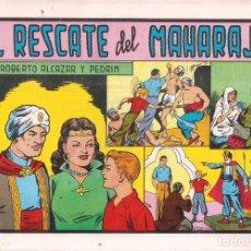 Tebeos: ROBERTO ALCAZAR Y PEDRIN Nº 156: EL RESCATE DEL MAHARAJÁ. AÑO 1984. Lote 236744565