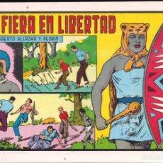 Tebeos: ROBERTO ALCAZAR Y PEDRIN Nº 157: LA FIERA EN LIBERTAD. AÑO 1984. Lote 236744645