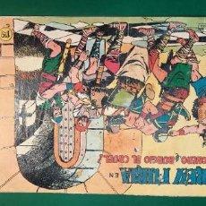 Tebeos: REY FURIA (1961, VALENCIANA) 2 · 16-II-1961 · PRISIONERO DE BURGIO EL CRUEL. Lote 236756005