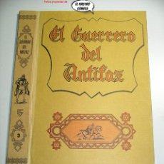 Giornalini: EL GUERRERO DEL ANTIFAZ TOMO Nº 3, SOLO TAPAS, ED VALENCIANA 1973, COLOR. Lote 236877530