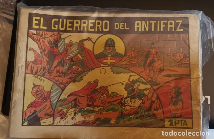 EL GUERRERO DEL ANTIFAZ PRIMERA EDICION 505 TEBEOS (Tebeos y Comics - Valenciana - Guerrero del Antifaz)