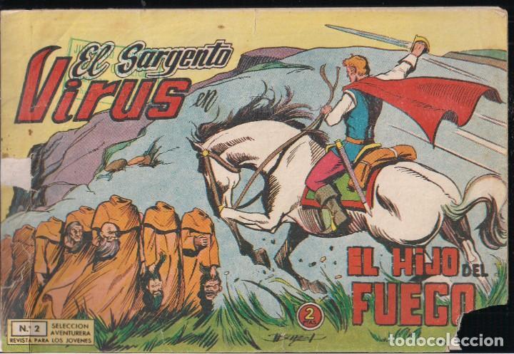 EL SARGENTO VIRUS Nº 2 EL HIJO DEL FUEGO (Tebeos y Comics - Valenciana - Selección Aventurera)