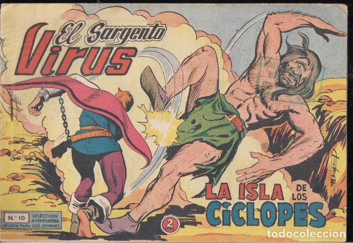 EL SARGENTO VIRUS Nº 10: LA ISLA DE LOS CÍCLOPES (Tebeos y Comics - Valenciana - Selección Aventurera)
