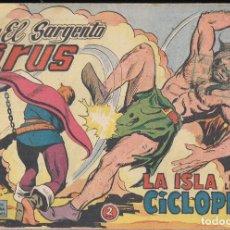 Tebeos: EL SARGENTO VIRUS Nº 10: LA ISLA DE LOS CÍCLOPES. Lote 237135155