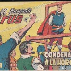 Tebeos: EL SARGENTO VIRUS Nº 17: CONDENADO A LA HORCA. Lote 237136750