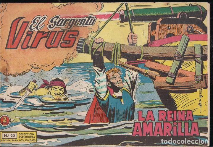 EL SARGENTO VIRUS Nº 22: LA REINA AMARILLA (Tebeos y Comics - Valenciana - Selección Aventurera)