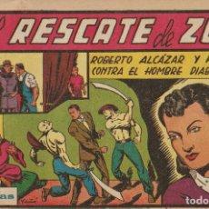 Tebeos: ROBERTO ALCÁZAR Y PEDRÍN Nº 107 ORIGINAL. 1,75 PTA. LOMO POR REPARAR. DE ENCUADERNACIÓN. Lote 237145505