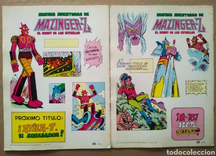 Tebeos: Lote Nuevas Aventuras de Mazinger-Z El Robot de las Estrellas: números 20-22 (Valenciana). - Foto 2 - 200130397
