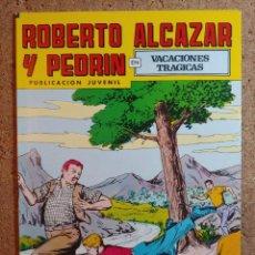 Giornalini: COMIC DE ROBERTO ALCAZAR Y PEDRIN EN VACACIONES TRAGICAS Nº 210. Lote 237713225