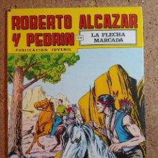 Giornalini: COMIC DE ROBERTO ALCAZAR Y PEDRIN EN LA FLECHA MARCADA Nº 208. Lote 237713810