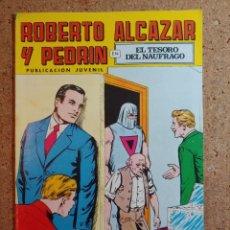 Giornalini: COMIC DE ROBERTO ALCAZAR Y PEDRIN EN EL TESORO DEL NAUFRAGIO Nº 136. Lote 237714185