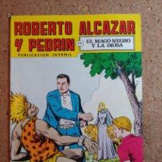 Giornalini: COMIC DE ROBERTO ALCAZAR Y PEDRIN EN EL MAGO NEGRO Y LA DIOSA Nº 135. Lote 237715400
