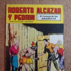 Giornalini: COMIC DE ROBERTO ALCAZAR Y PEDRIN EN EL TESORO DE LOS AMAHUCAS Nº 90. Lote 237717350