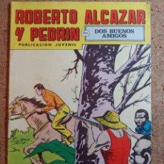 Giornalini: COMIC DE ROBERTO ALCAZAR Y PEDRIN EN DOS BUENOS AMIGOS Nº 80. Lote 237718575