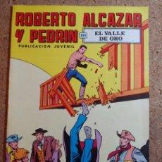 Giornalini: COMIC DE ROBERTO ALCAZAR Y PEDRIN EN EL VALLE DE ORO Nº 39. Lote 237718870