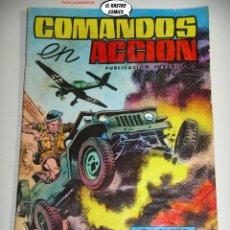 Livros de Banda Desenhada: COMANDOS EN ACCIÓN Nº 8, ED. VALENCIANA. Lote 238048720
